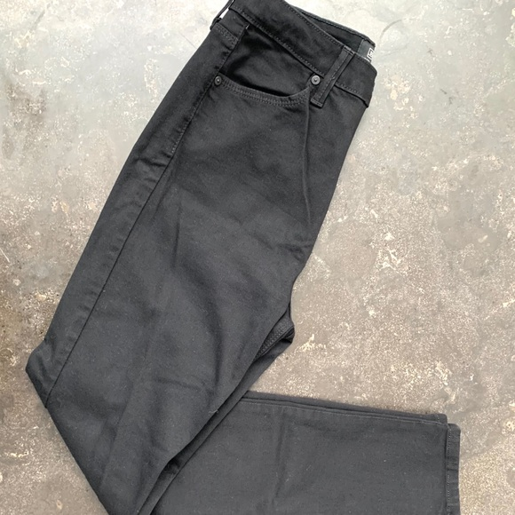 Just Black Denim - Just Black high waisted black skinny jean size 27